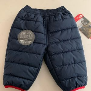 The north face reversible unisex baby snow pants
